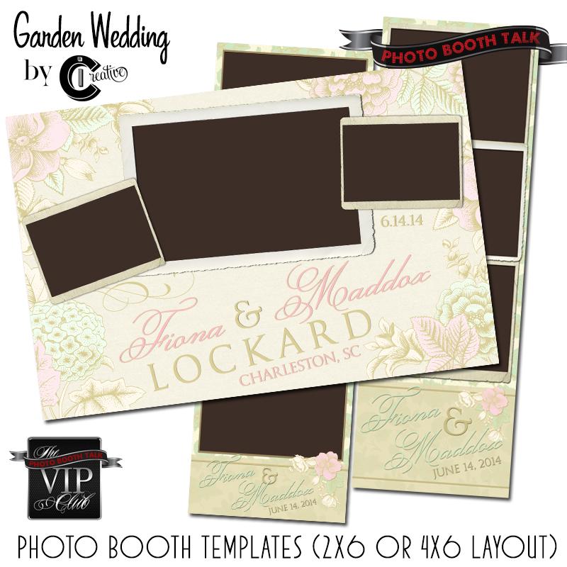 wedding photo booth strip templates | trattorialeondoro