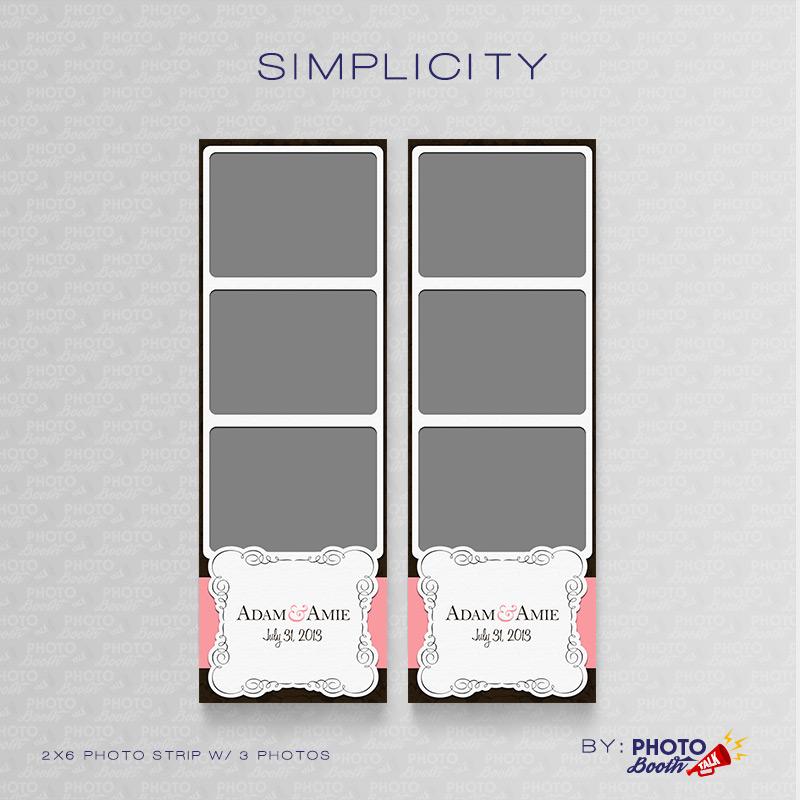 Simplicity – Photoshop PSD Files | Photo Booth Talk