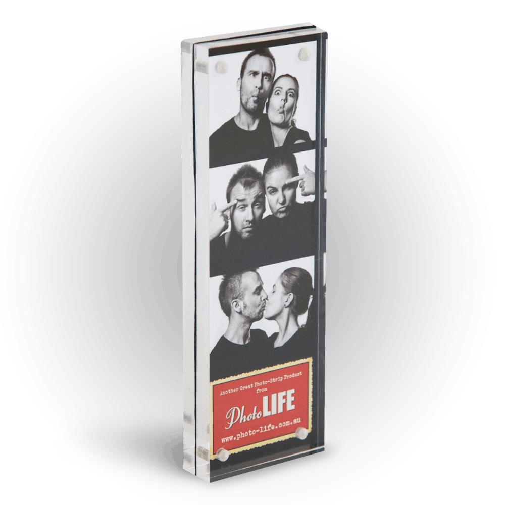 acrylic block photostrip frame