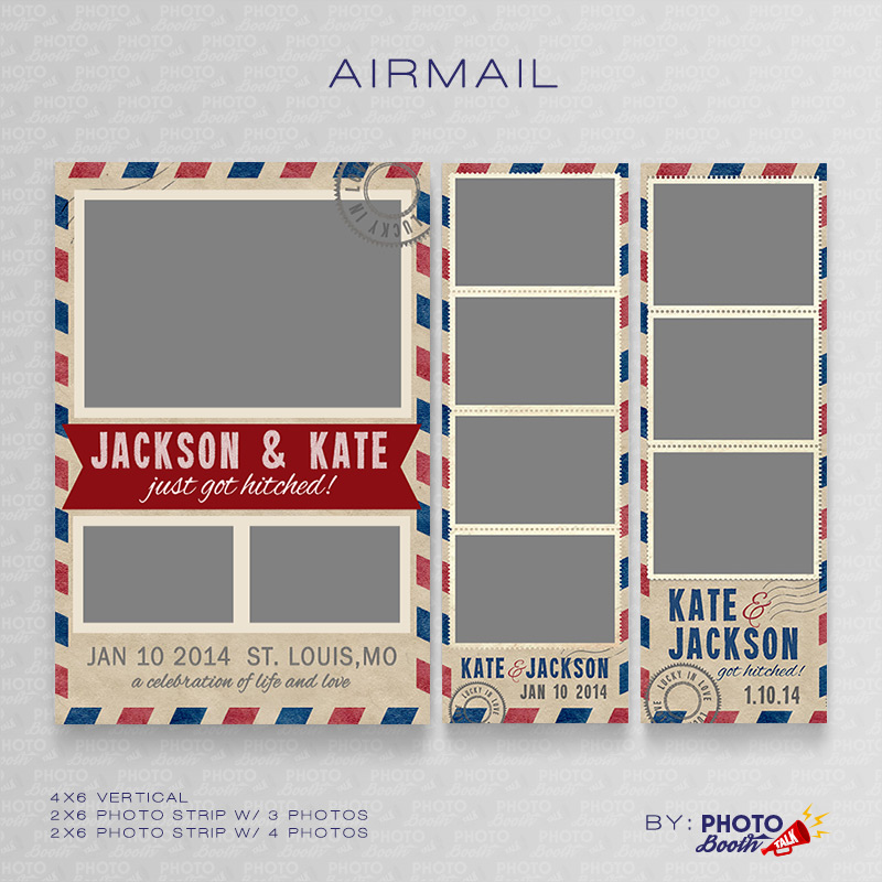 Airmail Photoshop Psd Files Photo Booth Talk