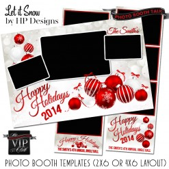 holiday photo booth templates