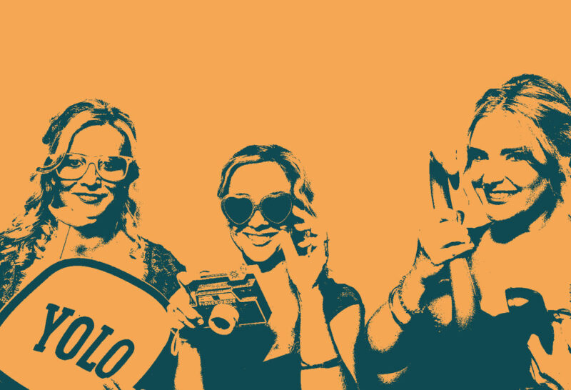 Pop Color Filters for Photo Booths