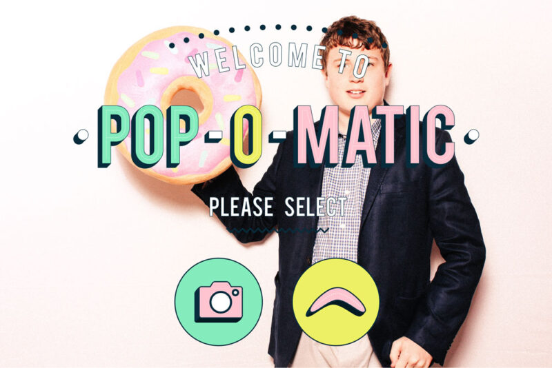 Ready Start Screen for Pop-o-Matic Theme for Breeze DSLR Remote Prop