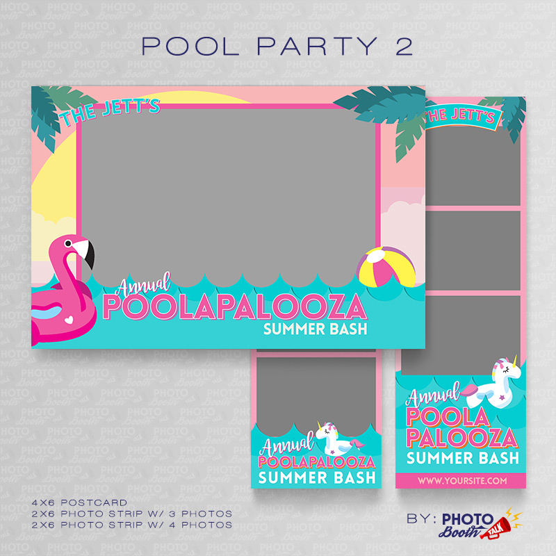 Pool Party 2 - Photoshop PSD Files
