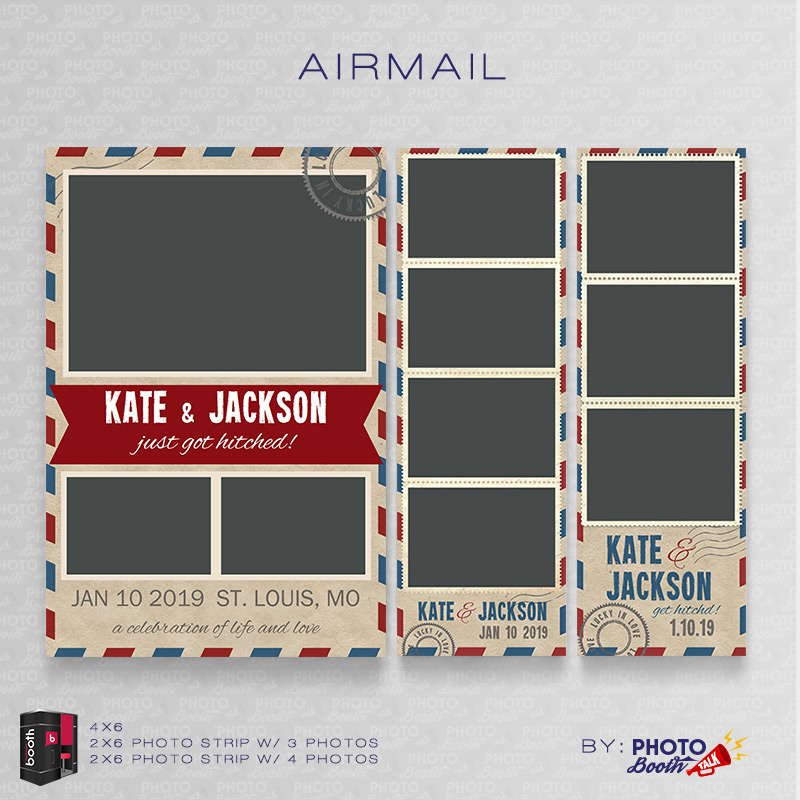 AirMail For Darkroom Booth Photo Booth Talk - Photo booth design templates