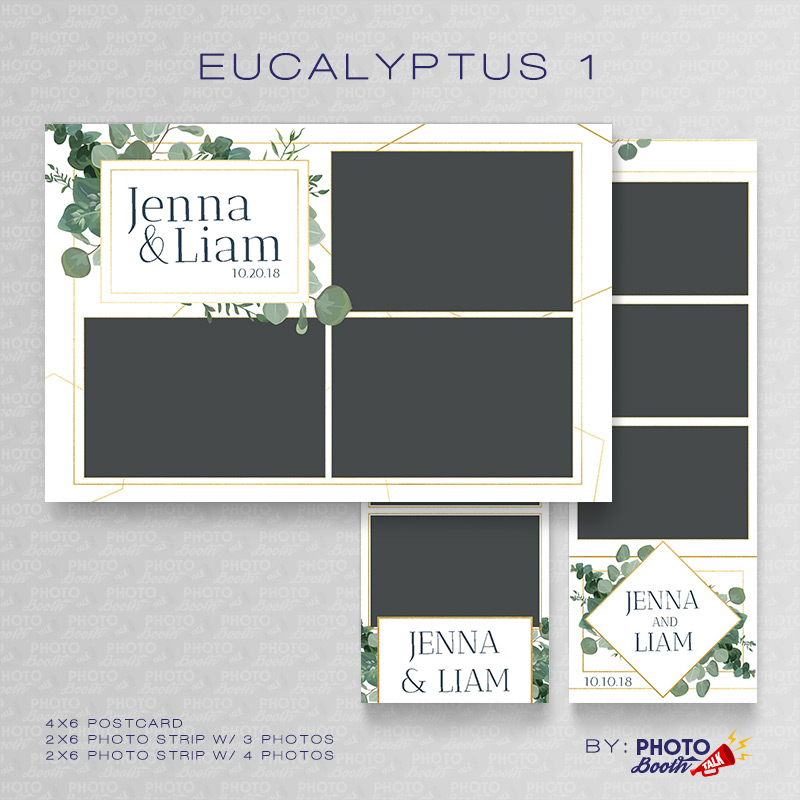 Eucalyptus 1 - Photoshop PSD Files
