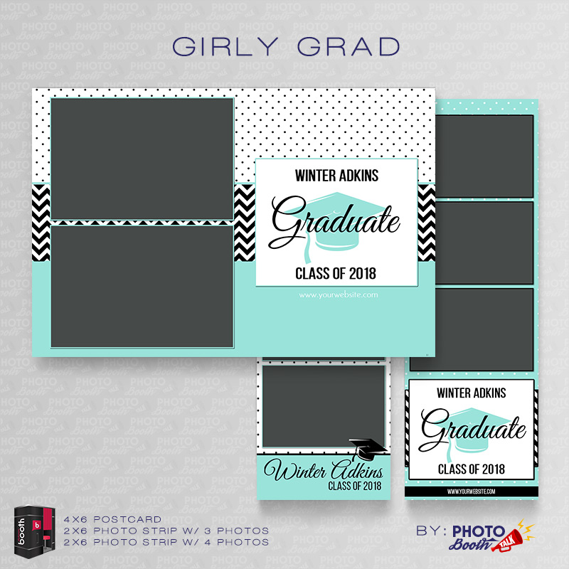 girly grad for darkroom booth photo booth talk