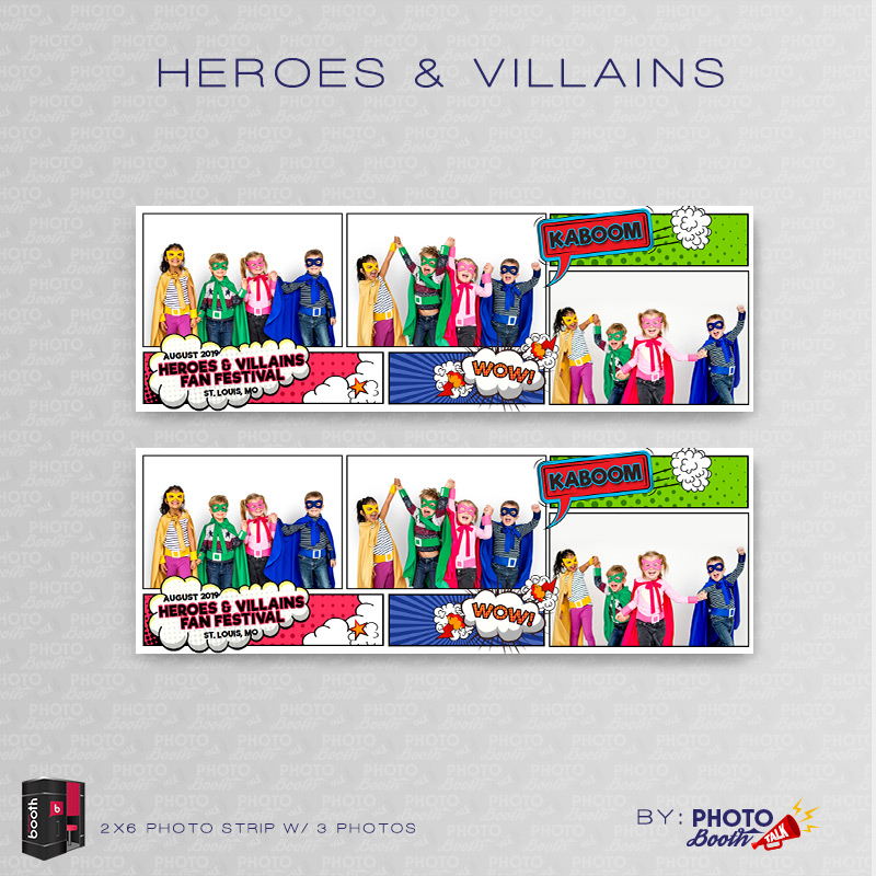 Darkroom Booth Templates | Heroes Villains For Darkroom Booth Photo Booth Talk