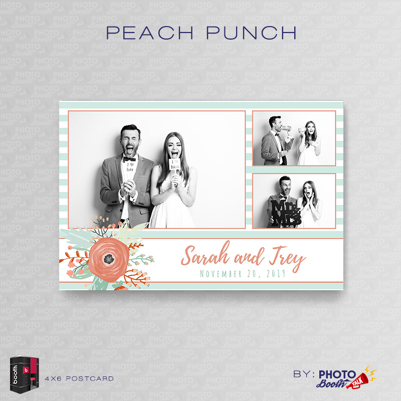 Peach Punch – For Darkroom Booth | Photo Booth Talk