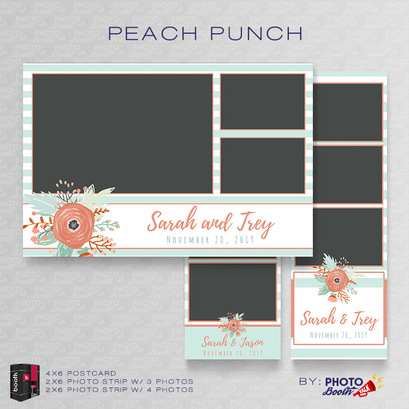 Peach Punch For Darkroom Booth