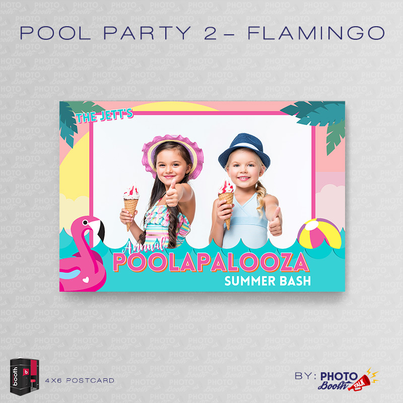 pool party 2 flamingo for darkroom booth photo booth. Black Bedroom Furniture Sets. Home Design Ideas
