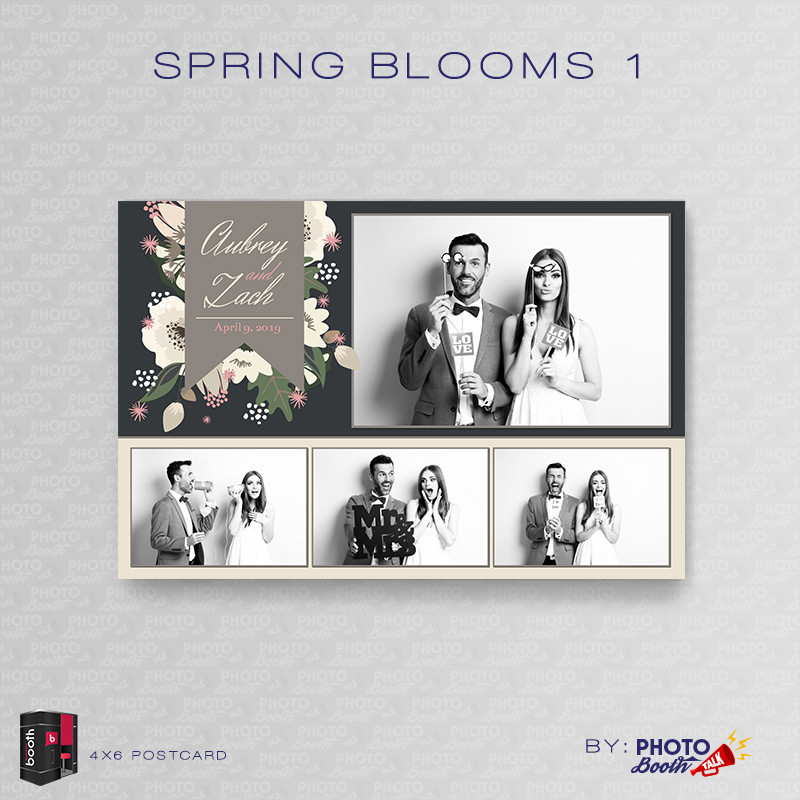 Spring Blooms For Darkroom Booth Photo Booth Talk - Photo booth design templates