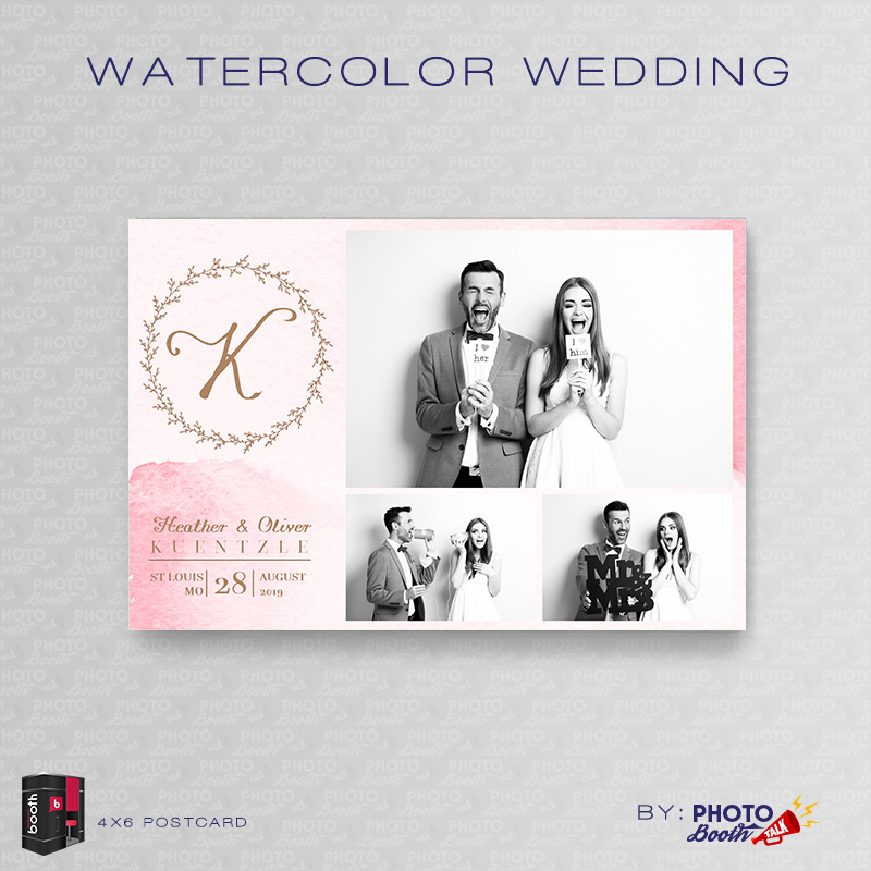 watercolor wedding for darkroom booth photo booth talk. Black Bedroom Furniture Sets. Home Design Ideas
