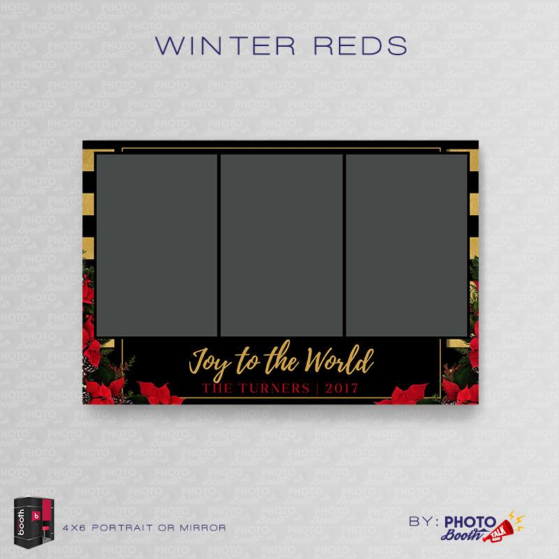 winter reds portrait mirror for darkroom booth photo booth talk