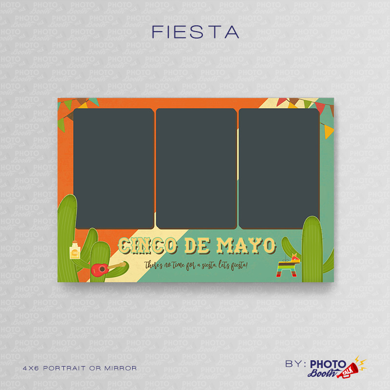Fiesta – Portrait Mirror – Photoshop PSD Files | Photo Booth Talk