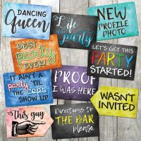 Party Mix Signs