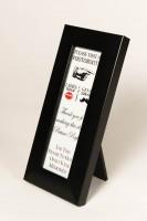 Black Photo Booth Strip Frame