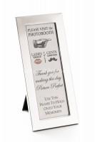 Silver Photo Strip Frame