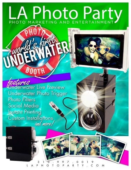 Under Water Photo Booth by LA Photo Party